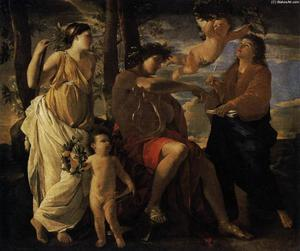 Nicolas Poussin - The Inspiration of the Poet