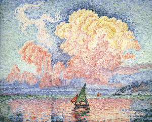 Paul Signac - Antibes, the Pink Cloud
