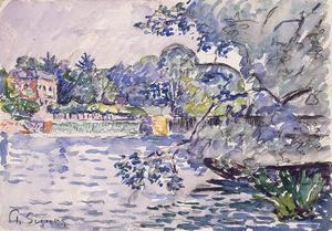 Paul Signac - Banks of the Seine