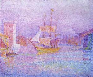 Paul Signac - Harbour at Marseilles