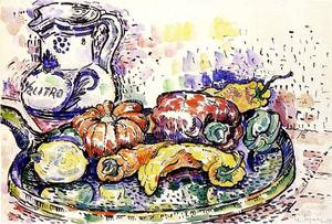 Paul Signac - Still Life with Pitcher