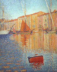 Paul Signac - The Red Buoy