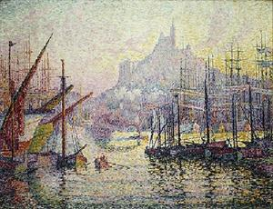 Paul Signac - View of the Port of Marseilles