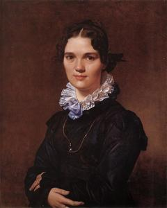 Jean Auguste Dominique Ingres - Mademoiselle Jeanne-Suzanne-Catherine Gonin