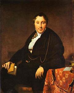 Jean Auguste Dominique Ingres - Portrait of Monsieur Leblanc