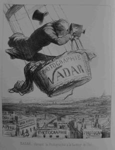 Honoré Daumier - NADAR elevating Photography to Art