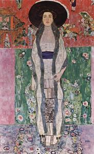 Gustav Klimt - Portrait of Adele Bloch-Bauer II - (oil painting reproductions)