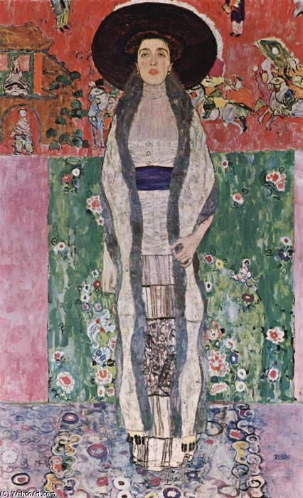 Order Paintings Reproductions | Portrait of Adele Bloch-Bauer II, 1912 by Gustav Klimt (1862-1918, Austria) | WahooArt.com