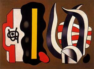 Fernand Leger - Composition with aloe No. 3