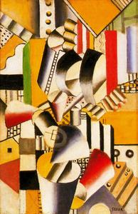 Fernand Leger - Contrast of Forms2