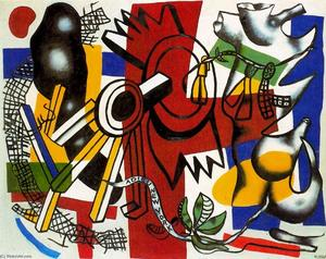 Fernand Leger - Goodbye New York