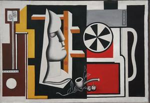 Fernand Leger - Still life with plaster mask