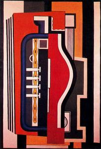 Fernand Leger - The accordion