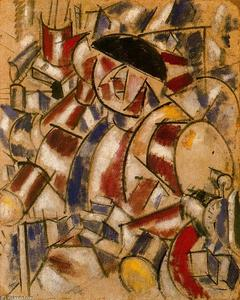 Fernand Leger - The alarm