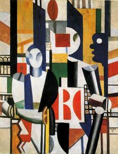Fernand Leger - The men in the city