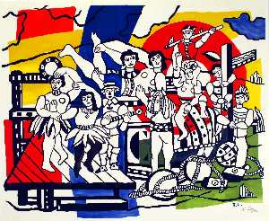 Fernand Leger - The Parade