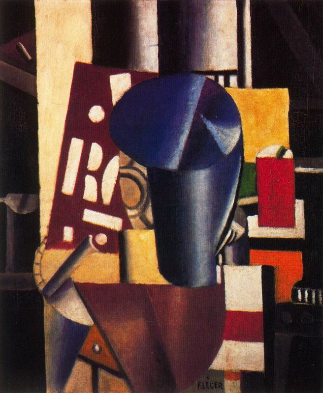 The printer by Fernand Leger (1881-1955, France) | Famous Paintings Reproductions | WahooArt.com