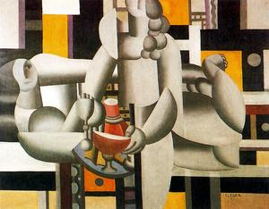 Fernand Leger - The two women and still life