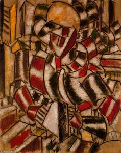 Fernand Leger - Women in red and green