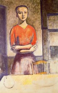 Balthus (Balthasar Klossowski) - Lena arms crossed
