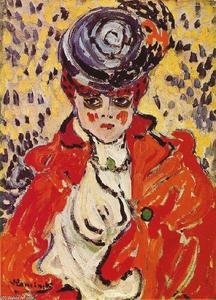 Maurice De Vlaminck - Portrait of a Woman