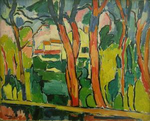 Maurice De Vlaminck - The red trees