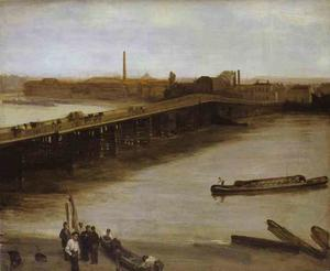 James Abbott Mcneill Whistler - Brown and Silver, Old Battersea Bridge