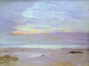 James Abbott Mcneill Whistler - Crepuscule in Opal, Trouville