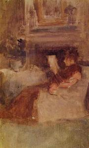 James Abbott Mcneill Whistler - Mrs. Charles Wibley Reading