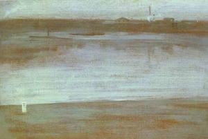 James Abbott Mcneill Whistler - Symphony in Gray, Early Morning Thames