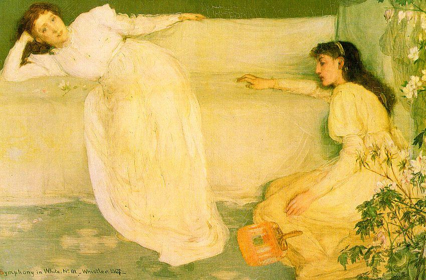 Symphony in White Number 3, Oil by James Abbott Mcneill Whistler (1834-1903, United States)