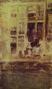 James Abbott Mcneill Whistler - The Grey House