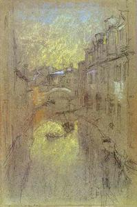 James Abbott Mcneill Whistler - Winter Evening