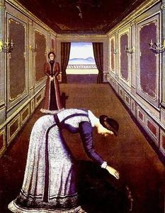 Paul Delvaux - The Rose