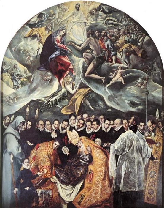 an analysis of the burial of count orgaz a painting by el greco No picture better demonstrates the essence of el greco's art than his most famous, the burial of the count of orgaz, which was painted for his own parish church, santo tom.