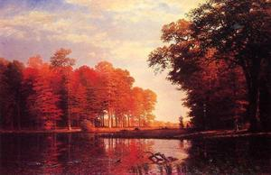 Albert Bierstadt - Autumn Woods