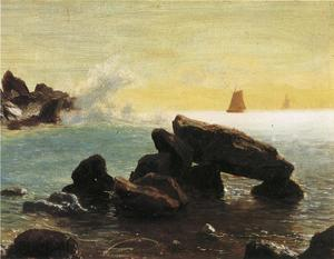 Albert Bierstadt - Farralon Islands, California