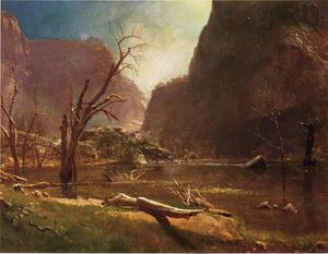 Albert Bierstadt - Hatch Hatchy Valley, California