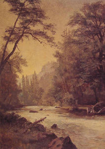 Albert Bierstadt - Lower Yosemite Valley