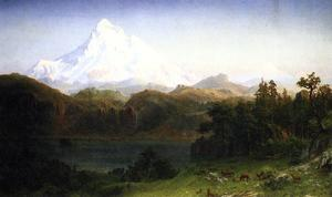 Albert Bierstadt - Mount Hood, Oregon