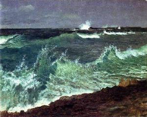 Albert Bierstadt - Seascape