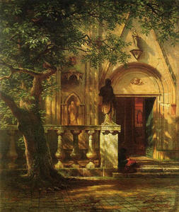 Albert Bierstadt - Sunlight and Shadow