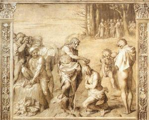 Andrea Del Sarto - Baptism of the People