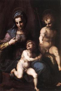 Andrea Del Sarto - Madonna and Child with the Young St. John