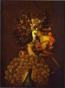 Giuseppe Arcimboldo - Air - (Famous paintings)