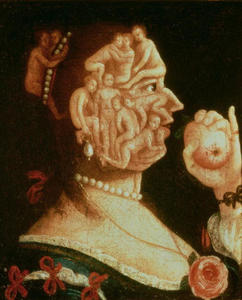 Giuseppe Arcimboldo - Portrait of Eve