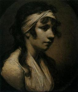 Joseph Wright Of Derby - Harriet Wright, the Artist's Daughter