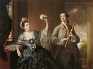 Joseph Wright Of Derby - Mr and Mrs William Chase