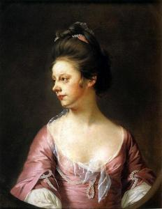 Joseph Wright Of Derby - Mrs Catherine Swindell