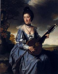 Joseph Wright Of Derby - Mrs Robert Gwillym